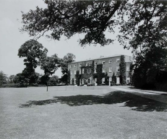 Image: Fig.6. The garden front 1933   (By courtesy of Lady Stourton)