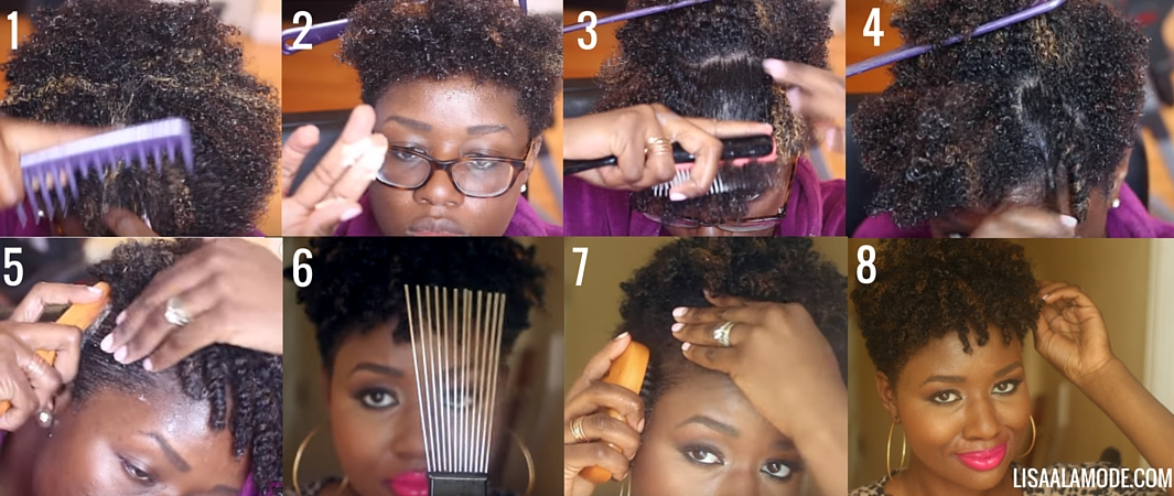The Perfect Twist Out on Type 4 Natural Hair