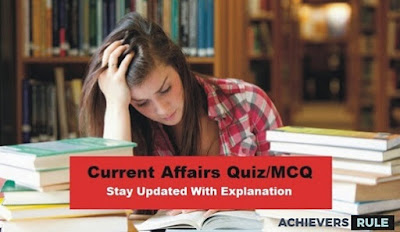 Daily Current Affairs MCQ - 26th & 27th September 2017