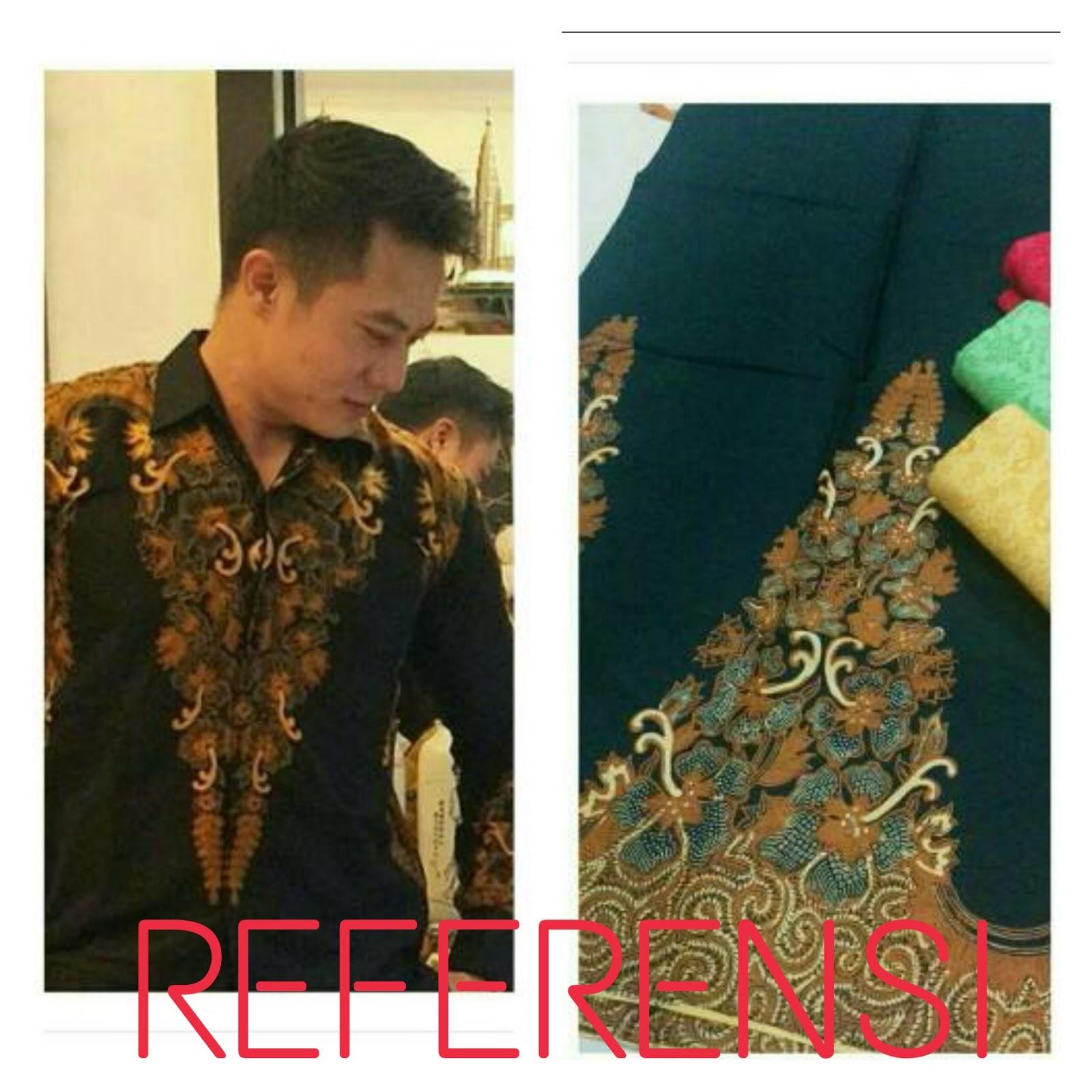 kemeja batik pria modern eksklusif  BATIK JAWA MODERN