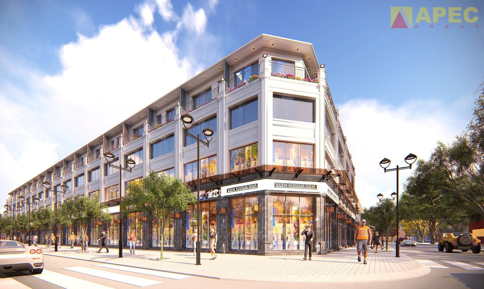 Dự án Shophouse Apec Marina Phú Yên