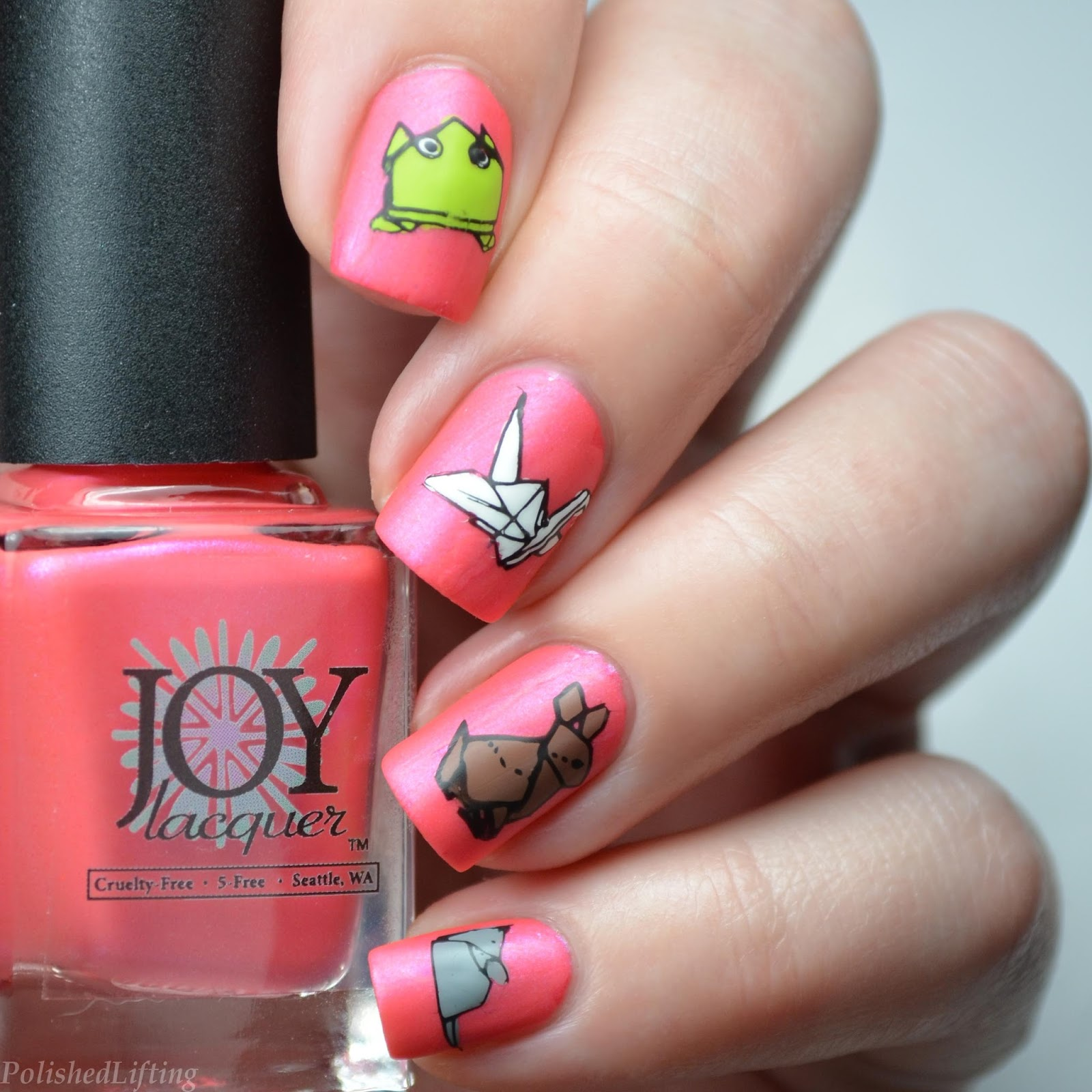 Polished Lifting: Origami Paper Animals featuring Joy Lacquer - photo#45