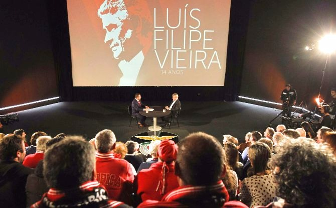 Benfica Luís Filipe Vieira