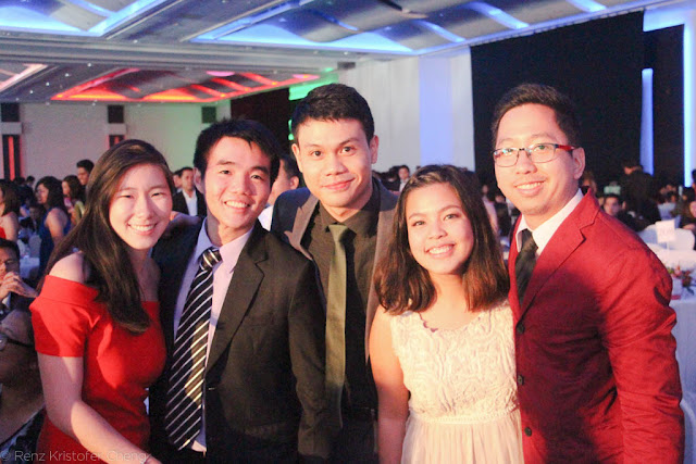 Keshia Ong, Mark Chu, JD Castillo, Marnie Mamac and Renz Cheng