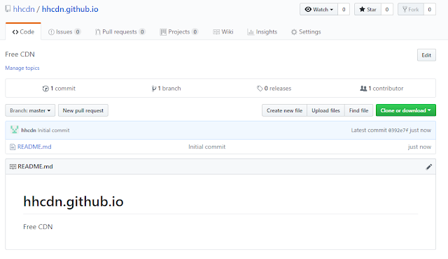 Tạo Github Pages và sử dụng nó như 1 hosting miễn phí cho Website/Blog