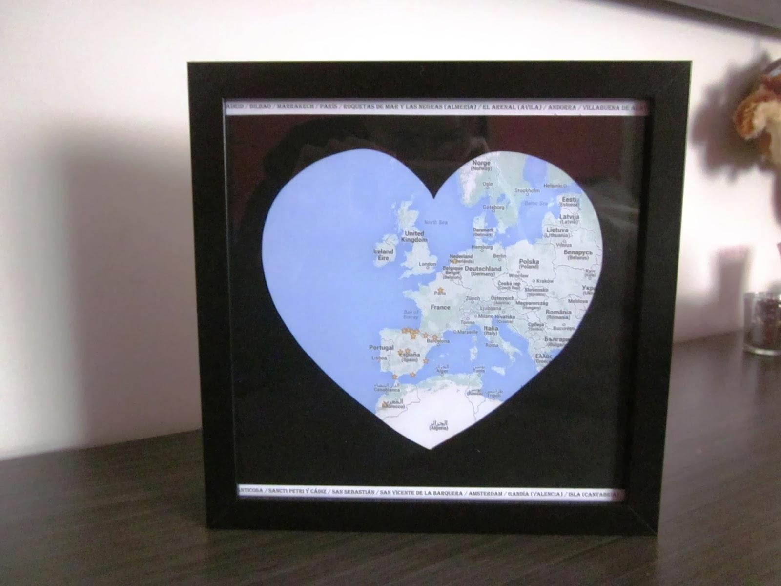 cuadro con corazón-