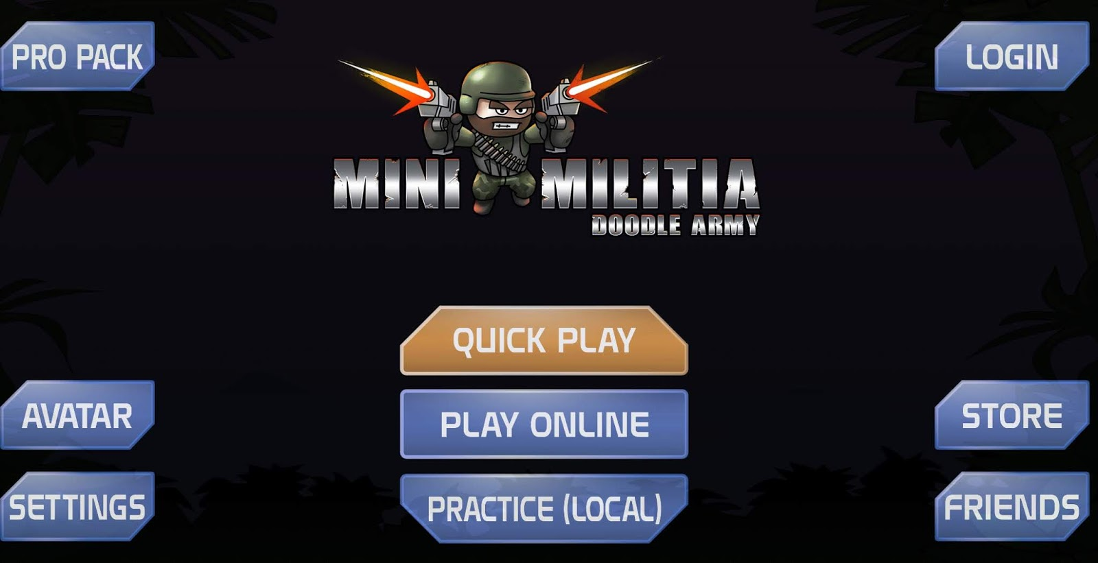 Mini Militia - Doodle Army 2 Mod Apk Version 4 2 8 Pro Pack