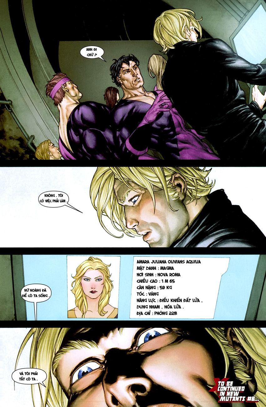 X-Men Necrosha chap 1 trang 37