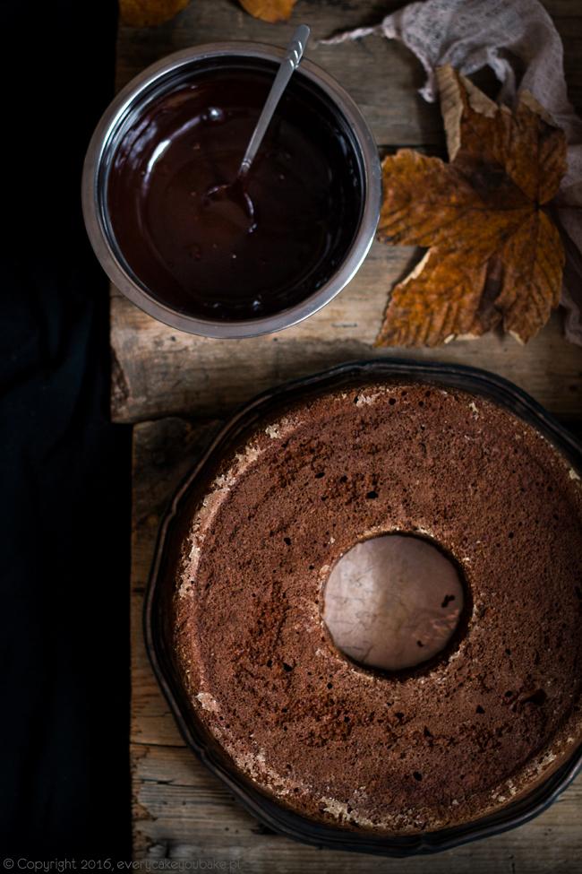 proste ciasto dyniowe z czekoladą z dodatkiem mąki żytniej i jogurtu