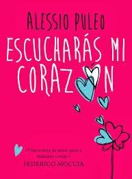 Portada del libro Escucharás mi corazón de Alessio Puleo