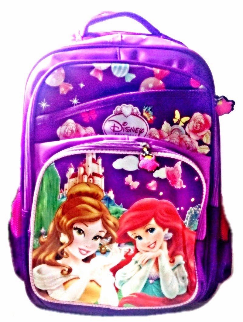 Disney School Bags For S Princesses Large Bag Kids Back Packs And Princess Trolley Online In India