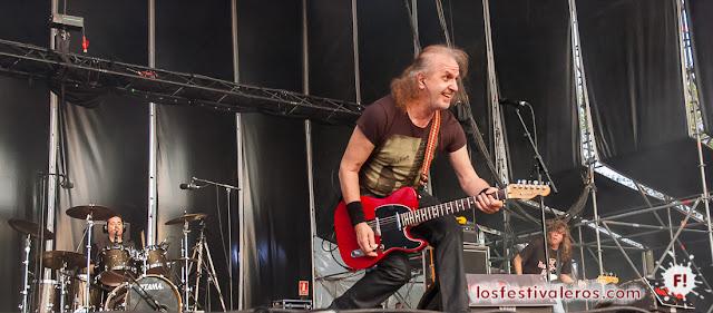Baron Rojo en el festival ViñaRock 2016