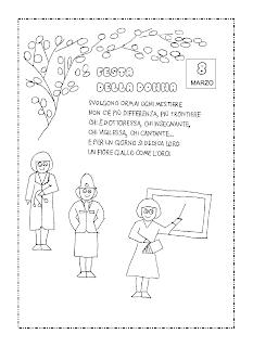 La Maestra Linda 8 Marzo Festa Della Donna
