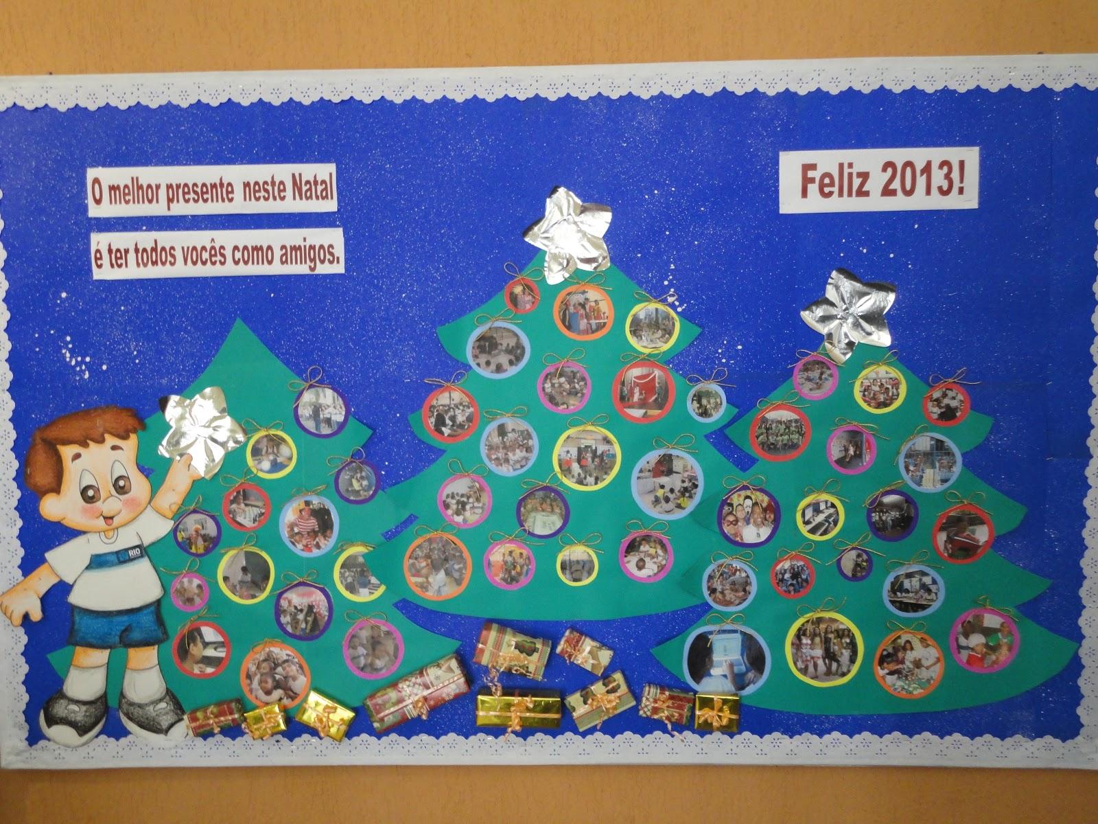 Blog da 3 coordenadoria regional de educa o mural de natal for Mural sobre o natal