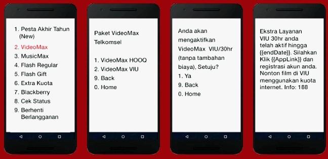 Fungsi dan Cara Menggunakan Kuota Videomax Telkomsel