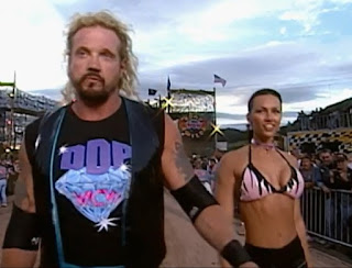 WCW Road Wild 1997 - Diamond Dallas Page (w/ Kimberly) faced Curt Hennig