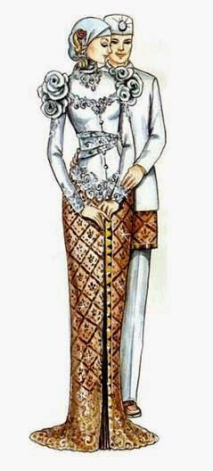 Tren desain baju pengatin muslim modern