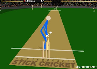 Play Stick Cricket Online Game