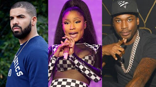 Drake Nicki Minaj and Meek Mill Diss