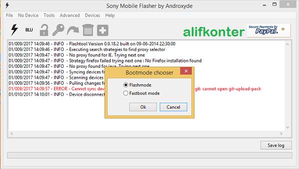 Cara Flash Sony Xperia ZR Docomo Upgrade Internal 32GB | AlifKonter