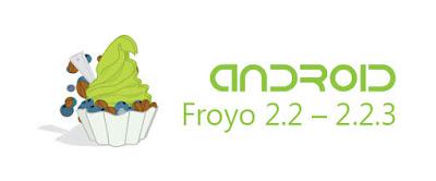 Android versi 2.2-2.2.3 (Froyo: Frozen Yoghurt)