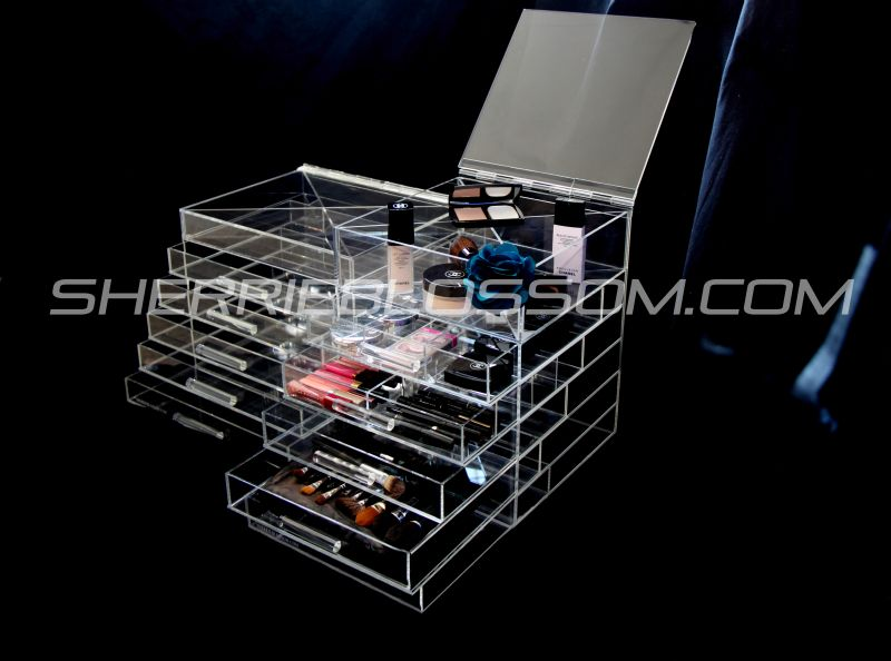 Kourtney Kardashian Makeup Organizer Acrylic - Makeup ...