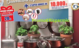 Logo Tognana ti premia con buono sconto da 20 euro e vinci buoni acquisti da 10.000 euro