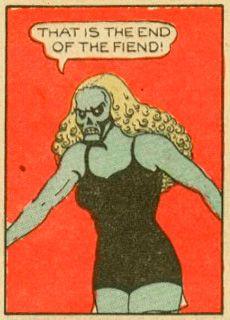 Y pensar que dejaron a la pobre Fantomah de lado...