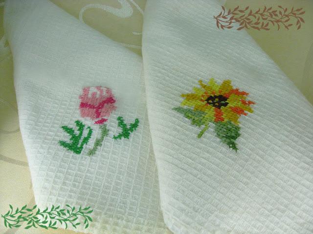 вишивка на полотенцах