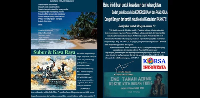 Buku Kebohongan Jokowi soal Agraria Disebar ke Desa-Desa