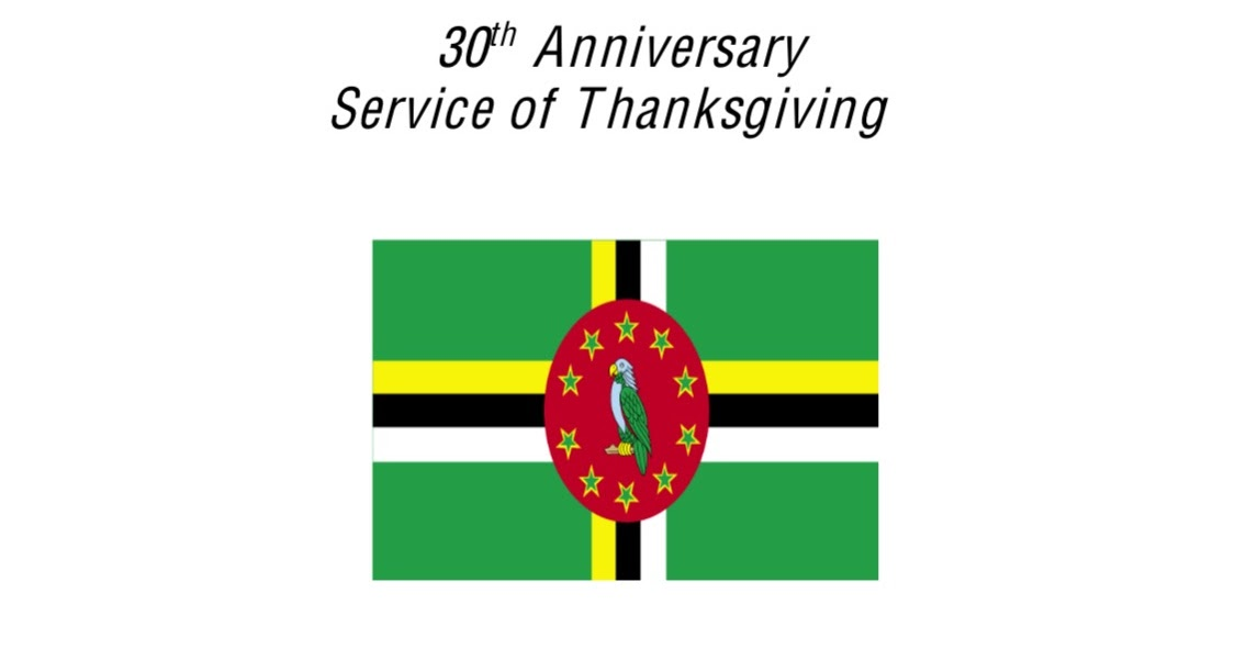 Welcome To Dominica Overseas Nationals Association 30th Anniversary