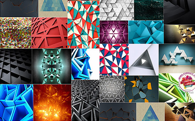 Download abstract background image quality triangular