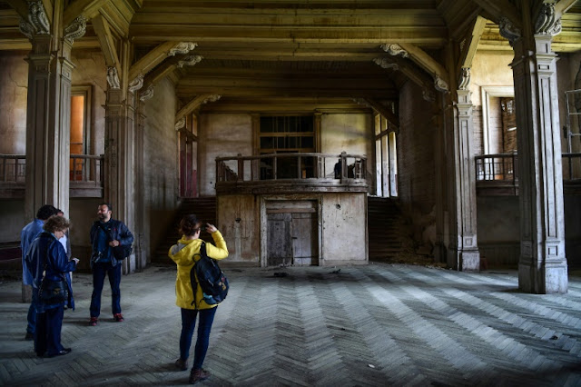 Europe's largest wooden building awaits salvation off Istanbul