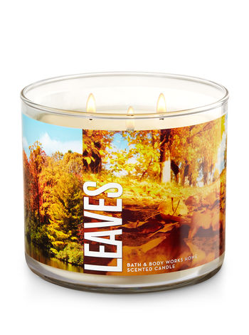 Bath and Body Works Leaves candle