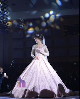 baju nikah princess amyra rosli