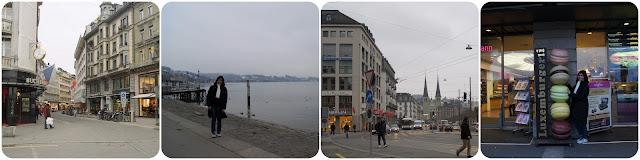 Lucerna / Rio Reuss / Lago dos Quatro Cantões