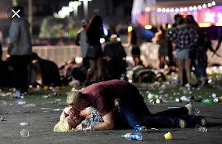 Las Vegas massacre survivors live through another shooting