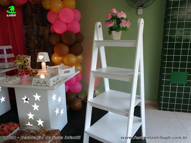 Mesa de aniversário da Oncinha - Festa infantil