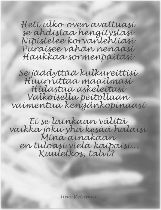 Lapselleni Runo
