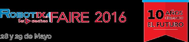 SORTEO EXPRESS: ENTRADAS PARA EL ROBOTIX FAIRE 2016