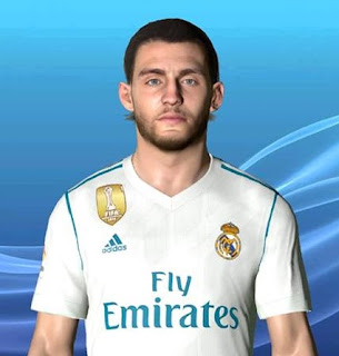 PES 2017 Faces Mateo Kovacic FIX by Ben Hossam FaceMaker
