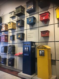 ベルリン通信博物館展示