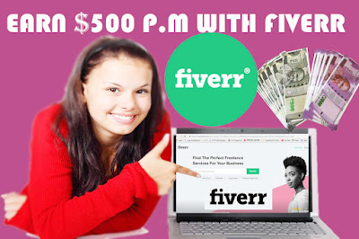 How to make money on Fiverr-I made $500 per month, Make money on Fiverr-I made $500 per month