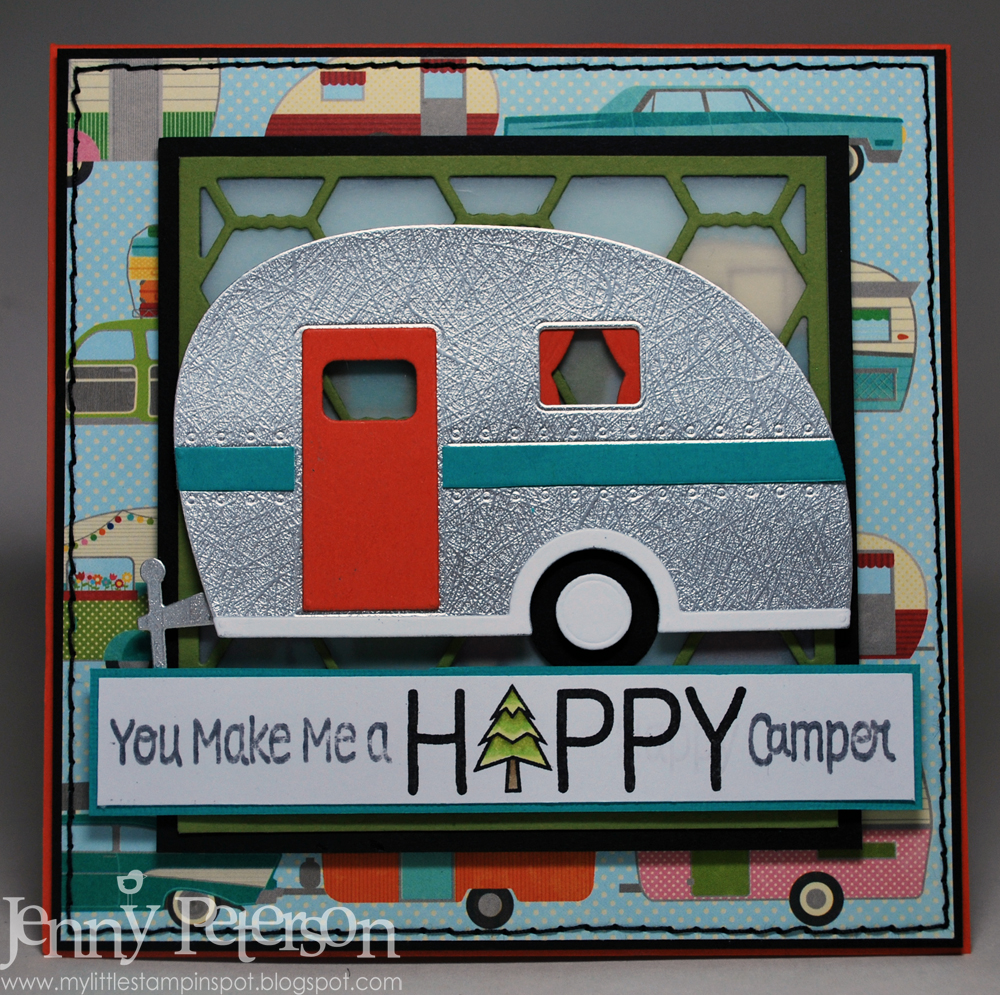 My Little Stampin' Spot: {SSSC} Happy Camper