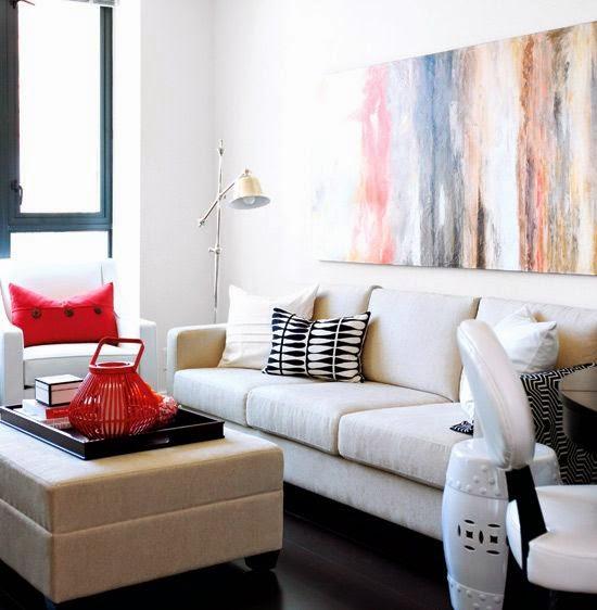 30 ideas de decoraci n de salas peque as modernas con fotos for Decoraciones de sala modernas para apartamentos