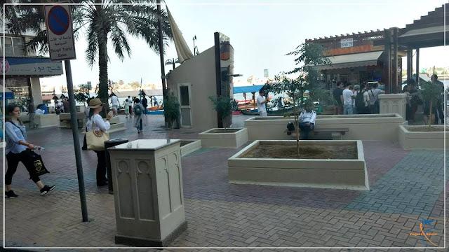 Calçadão do Dubai Creek