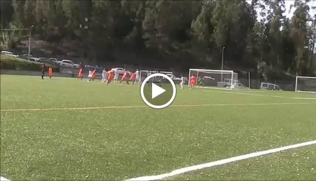 Um fora de jogo que levantou polémica em jogo a 1ª Divisão