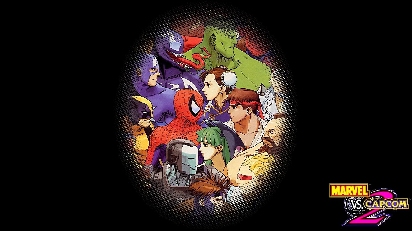 The Midnight Avenger Simple Marvel Vs Capcom 2 Wallpapers