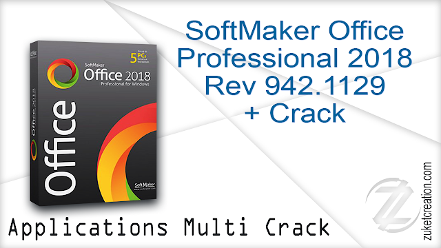 SoftMaker Office Professional 2018 Rev 942.1129 + Crack