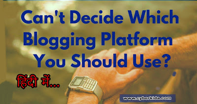 Best Blogging Platform for blogger in - 2019